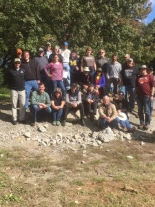 2018 Fall Field trip attendees