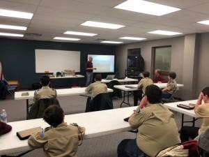 PGI Boy Scout presentation